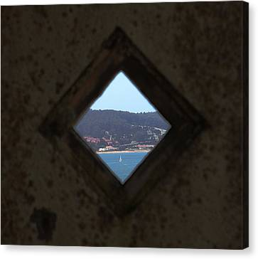 Alcatraz Canvas Print - View Of Freedom by Ty Helbach