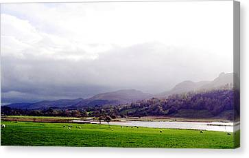 View Of Glencar Canvas Print by Amy Williams