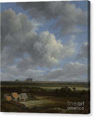 View Of Haarlem From The Northwest Canvas Print