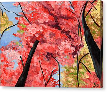 View Of Heaven Canvas Print by Susan Odom