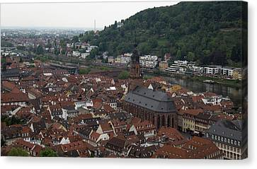 View Of Heiliggeistkirche Canvas Print by Teresa Mucha