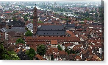 View Of Jesuitenkirche Canvas Print by Teresa Mucha