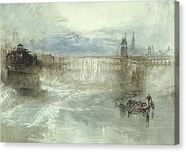 View Of Lucerne Canvas Print by Joseph Mallord William Turner