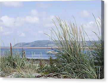 View Of North Wales Canvas Print by Gillian Dernie