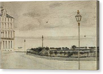 View Of Royal Road, Ramsgate, 1876 01 Canvas Print by Vincent Van Gogh