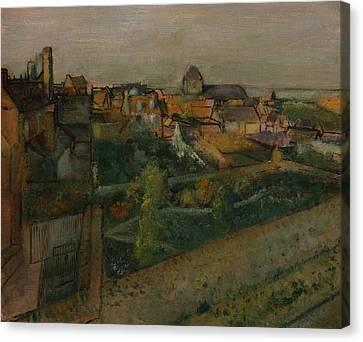 View Of Saint-valery-sur-somme Canvas Print