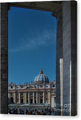 View Of St Peter's Canvas Print by Al Bourassa
