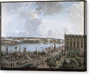 View Of Stockholm 1 Canvas Print