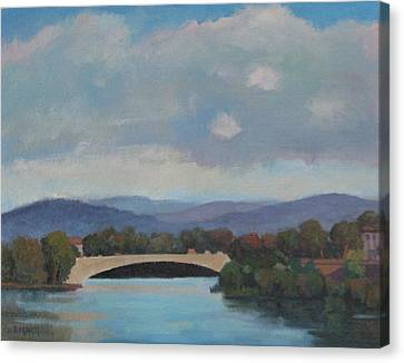 View Of The Arno Canvas Print
