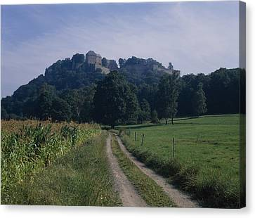 View Of The Fortress  Canvas Print
