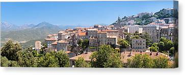 View Of The Sartene, Corse-du-sud Canvas Print by Panoramic Images