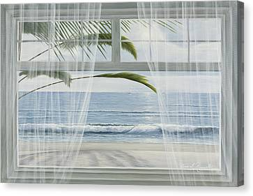 View Of The Tropics Canvas Print