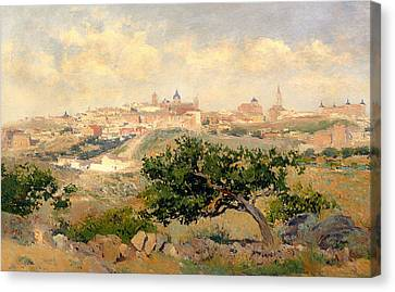 Stonewall Canvas Print - View Of Toledo by Mountain Dreams