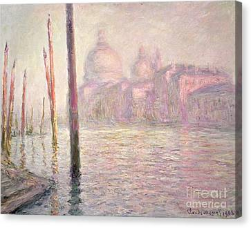 View Of Venice Canvas Print by Claude Monet