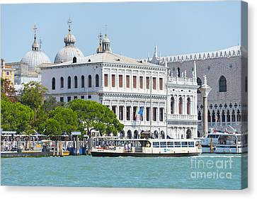 View On Piazza Canvas Print by Svetlana Sewell