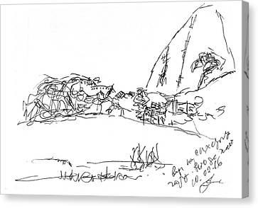 View On Sugarloaf Mountain, Rio De Janeiro. 10 February, 2016 Canvas Print