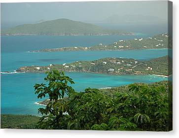Canvas Print featuring the photograph View Paradise by Lori Mellen-Pagliaro