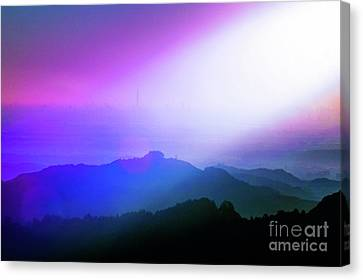 Canvas Print featuring the photograph View Point by Tatsuya Atarashi