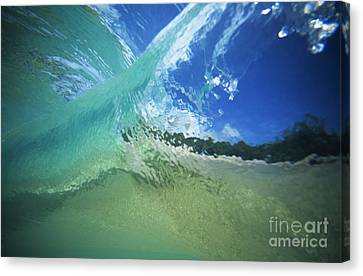 View Through Wave Canvas Print by Vince Cavataio - Printscapes