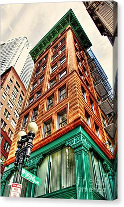 Views Of Boston Canvas Print