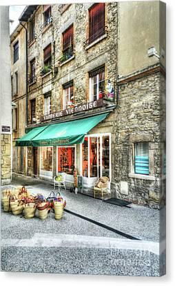 Views Of Vienne France Canvas Print