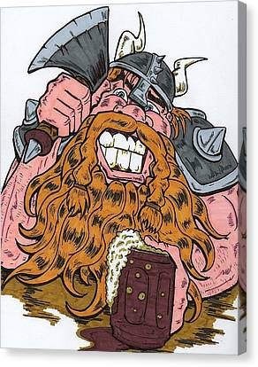 Viking Canvas Print by Anthony Snyder