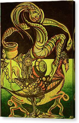 Prime Canvas Print - Viking by Ben Christianson