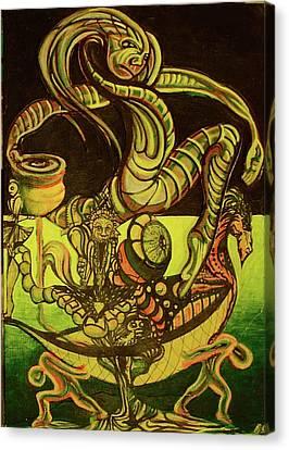 Viking Canvas Print by Ben Christianson