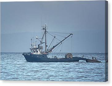 Canvas Print featuring the photograph Viking Fisher 3 by Randy Hall