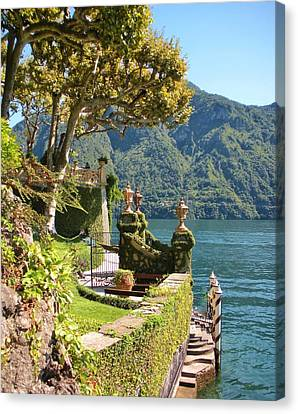 Villa Balbianello Marina Canvas Print by Marilyn Dunlap