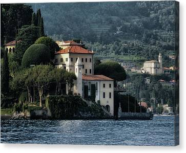 Villa Del Balbianello Canvas Print by Jim Hill