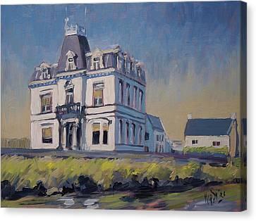 Canvas Print - Villa Lhoest by Nop Briex