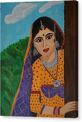 Vaijanti Mala Canvas Print by Shweta Singh
