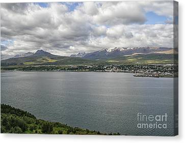 Village In Iceland Canvas Print by Patricia Hofmeester
