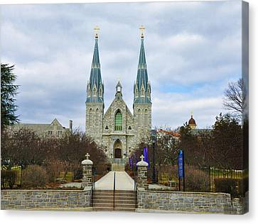 Villanova College Canvas Print by Bill Cannon