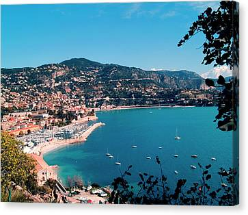 Villefranche Sur Mer Canvas Print by FCremona