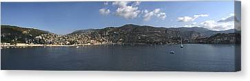 Seacape Canvas Print - Villefranche  by Terence Davis
