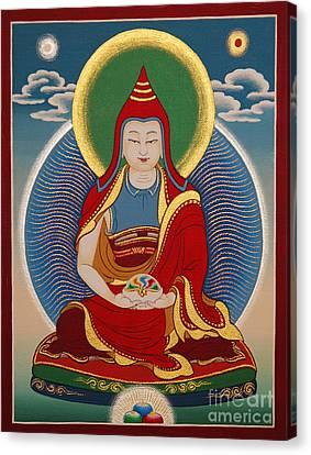 Tibetan Canvas Print - Vimalamitra Vidyadhara by Sergey Noskov