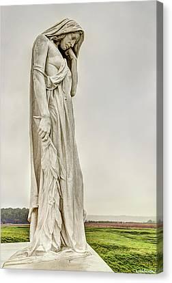 Vimy Memorial - Canada Bereft Canvas Print