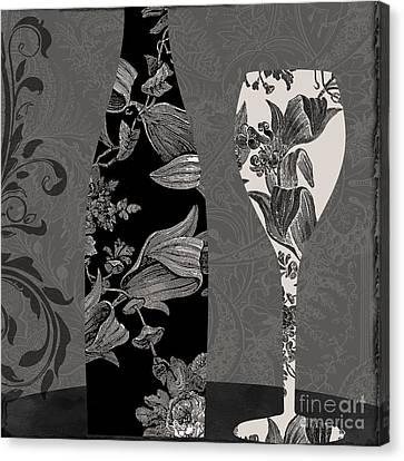 Vin Elegant II Canvas Print