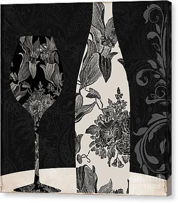 Vin Elegant Canvas Print