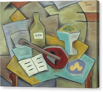 Vin Canvas Print by Trish Toro