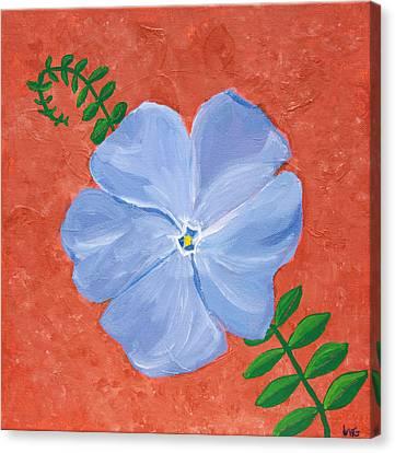 Vinca Vine Canvas Print