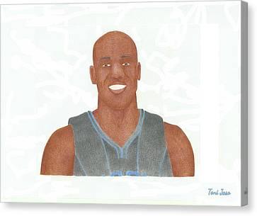Vince Carter Canvas Print - Vince Carter by Toni Jaso