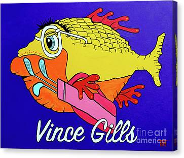 Canvas Print - Vince Gills by Tim Ross