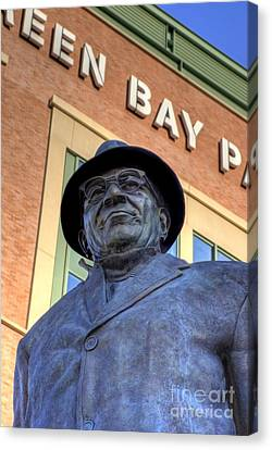 Vince Lombardi Canvas Print by Joel Witmeyer