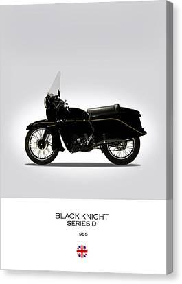 Vincent Black Knight 1955 Canvas Print