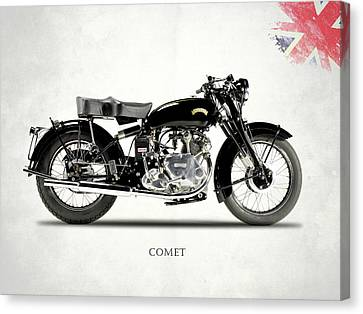 Vincent Comet Series C Canvas Print by Mark Rogan