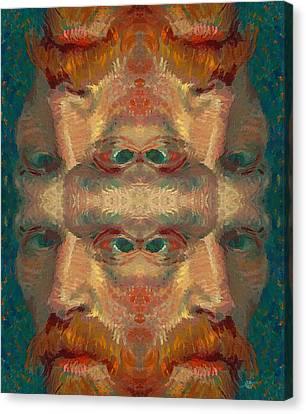 Vincent Van Gogh Meets Salvador Dali 2 Canvas Print