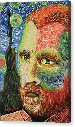 Taylor Swift Canvas Print - Vincent Van Gogh by Robert Kirsch